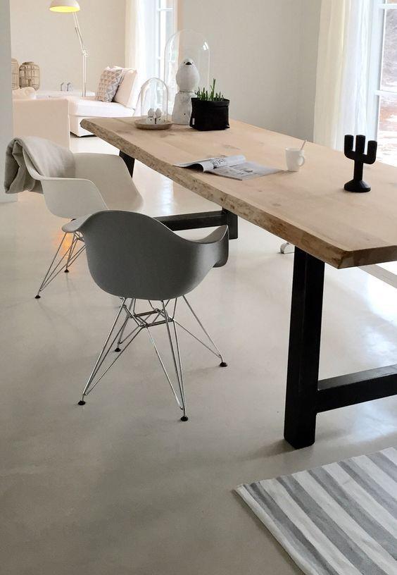 betonlook vloer modern