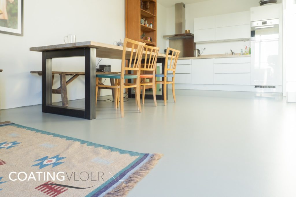 Gietvloer woning Amsterdam-Oost